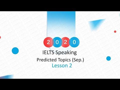 Acadsoc IELTS SPEAKING Predicted Topics - VIP Class