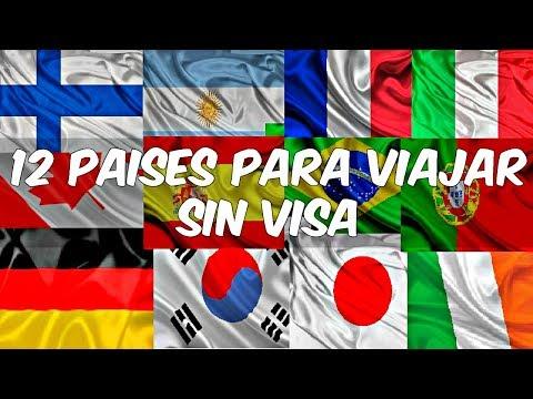 12 Países Para Viajar Sin VISA (Mexicanos)