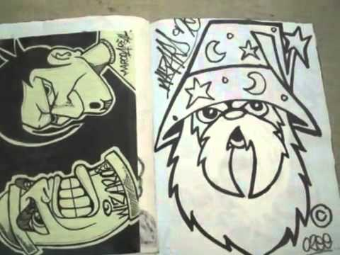 blackbook graffiti characters all by wizard youtube