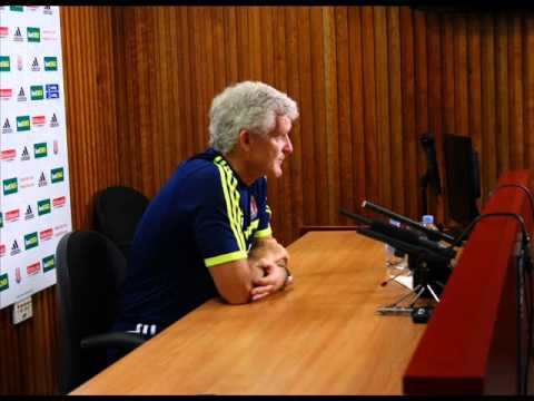 Mark Hughes ready for Crystal Palace! Stoke City Press Conference August 2013