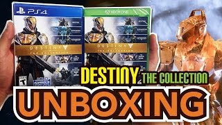 Destiny: The Collection (PS4/ Xbox One) Unboxing!!