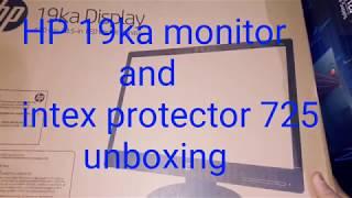 HP 19ka Monitor + Intex Protector 725 UPS For My New Setup