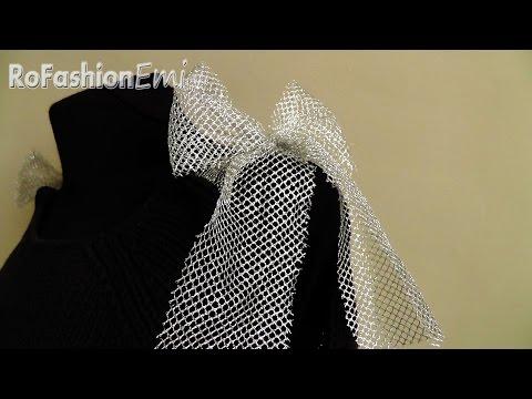Tutorial Ro Fashion - Cum sa modifici un pulover DIY