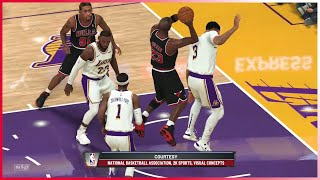Chicago Bulls 1998 vs Los Angeles Lakers 2020 🏀 (NBA 2k20)