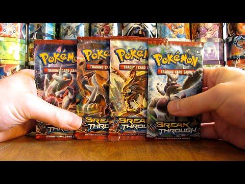 4 Pokemon BREAKthrough Booster Pack Opening