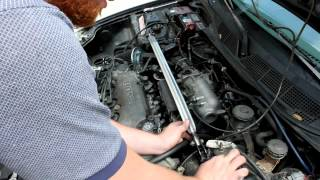 How to Install a Front Strut Bar