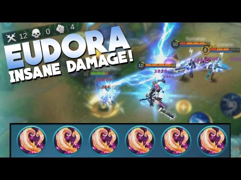 Mobile Legends Eudora Max Magic Power!