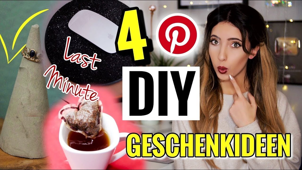 Last Minute DIY Pinterest Weihnachtsgeschenke | Günstige, schnelle ...