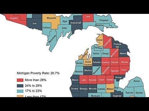 Poverty remains a problem in mid-Michigan