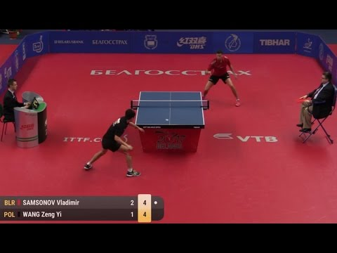 2017 Belarus Open (Ms-Final) SAMSONOV Vladimir - WANG Zeng Yi [Full Match/HD]