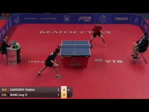 2017 Belarus Open (Ms-Final) SAMSONOV Vladimir - WANG Zeng Yi [Full Match/HD]