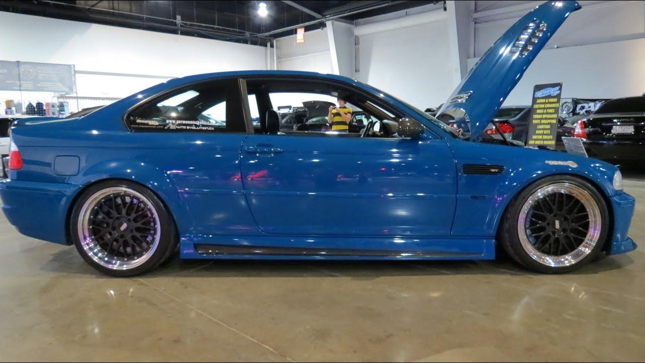 2003 BMW HPF M3 Custom  At 2013 MegaSpeed Show  YouTube