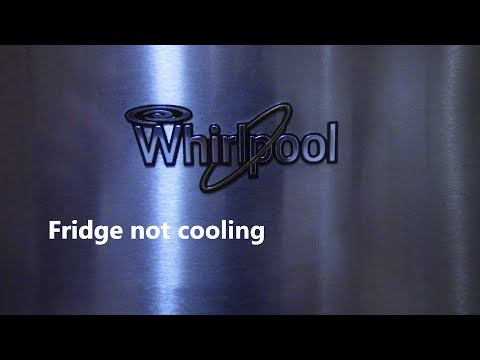 Whirlpool Fridge Is Warm, Freezer Is Cold. Time To Defrost - Part 3