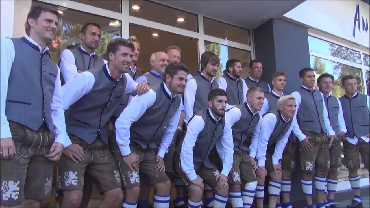 Tsv 1860 münchen @angermaier trachten kleidet sich mit neuen ...