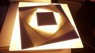Как подключить светодиодный светильник LED 28W своими руками