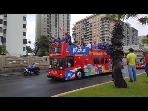 Recibimiento del equipo de Puerto Rico marzo 23 baldorioti