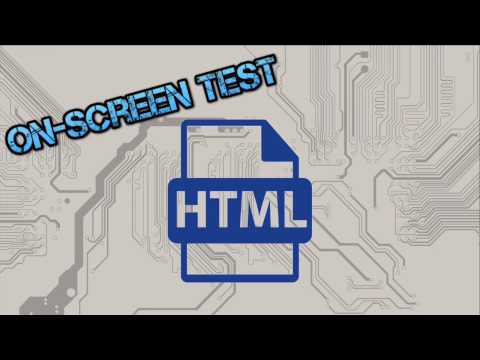 HTML Guide For Unit 2 Of WJEC GCSE Computer Science On-Screen Test