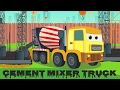 Cement Mixer | vehicle songs and rhymes for kids