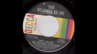 "Rick Nelson and the Stone Canyon Band  ""She Belongs to Me"""