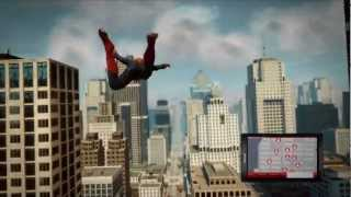 The Amazing Spider-Man - Free-Roam Web Swinging Gameplay HD
