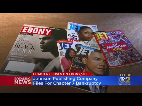 Chris Michaels - Johnson Publishing Company Owners of Ebony & Jet Files For Bankruptcy