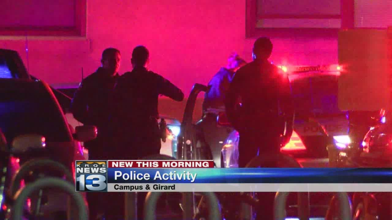 Police activity near Central and Girard overnight