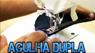 USANDO AGULHA DUPLA: Aprenda a Regular a Máquina e Dicas de Uso em Tecidos