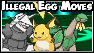 Pokeology Facts: Game Errors - Illegal Egg Move Combinations