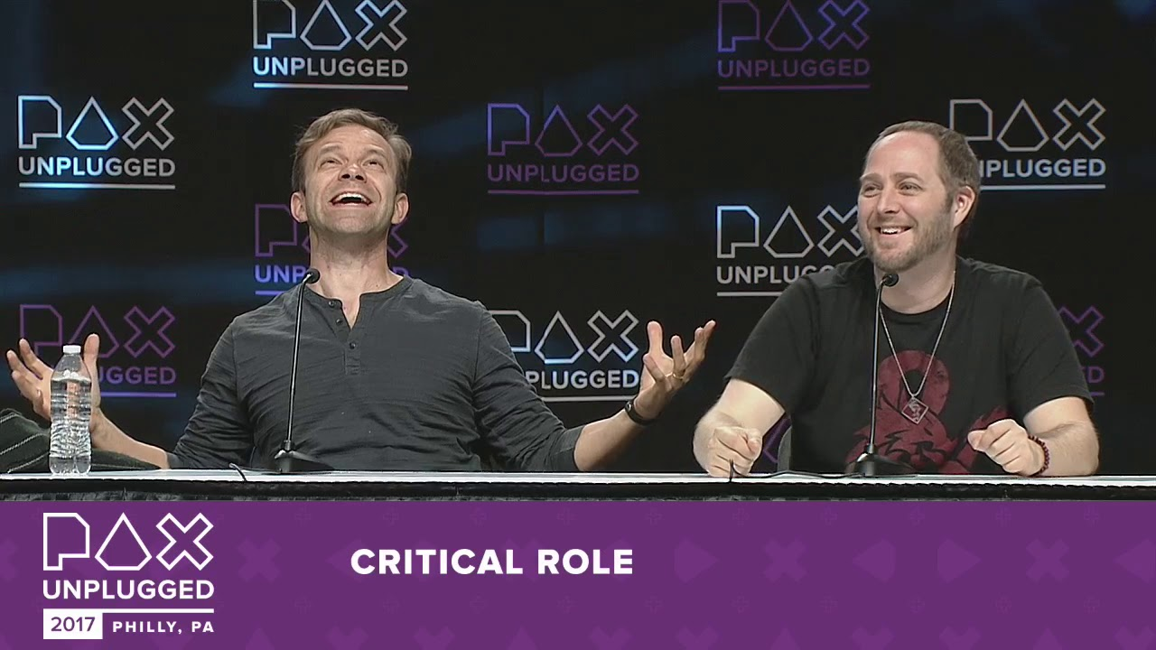 Panel At Pax Unplugged 2017 Critical Role