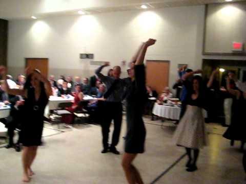 Celebrate Flash Mob Dance At Wedding Reception Youtube