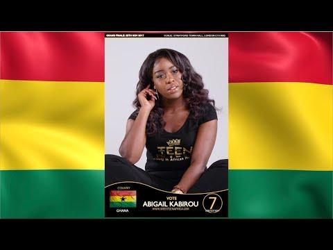 Miss Teen Africa UK 2017 - Abigail Kabirou (Ghana)
