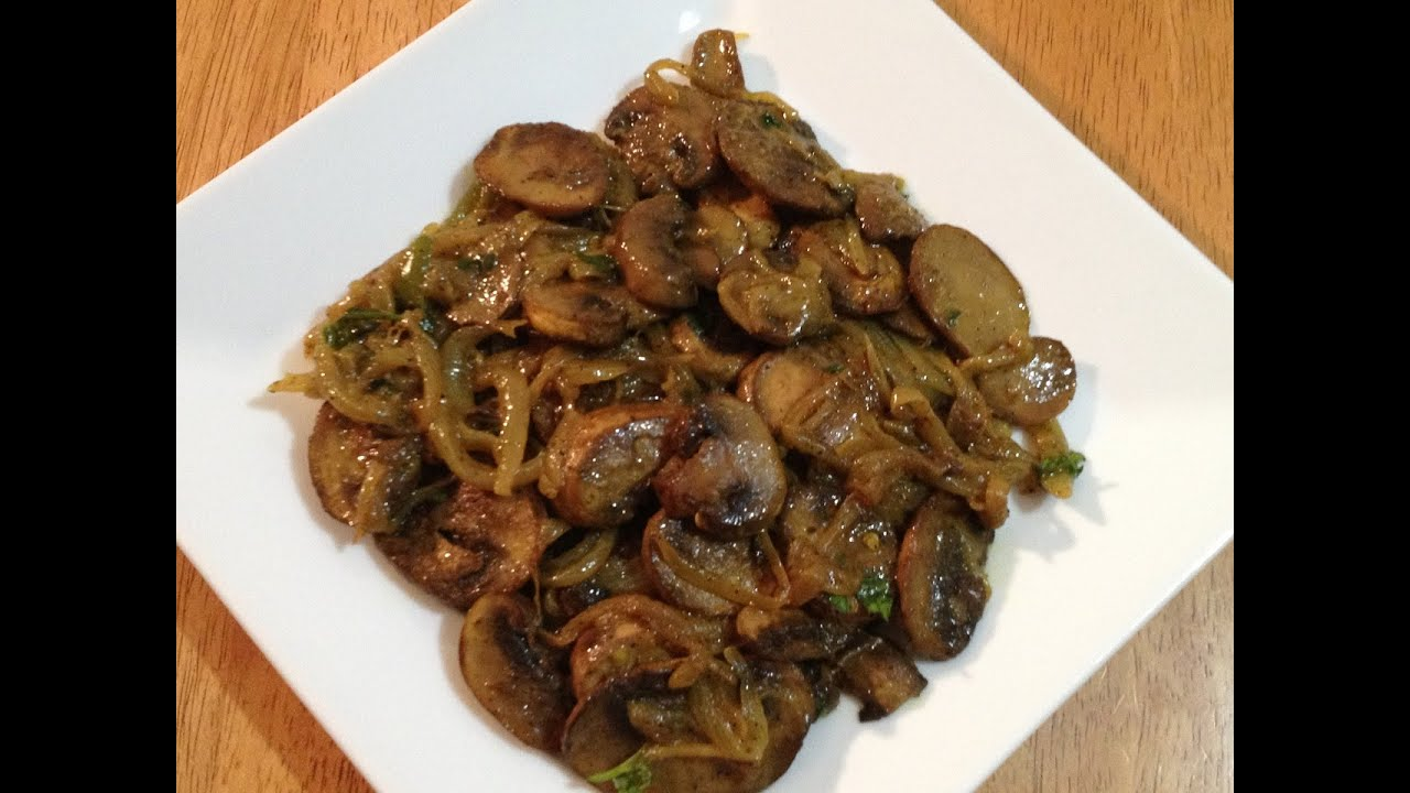 Quick and Easy Mushroom Chili Pepper Fry - YouTube