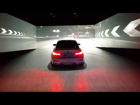 BMW M4 Concept Iconic Lights OLED and laser - CES 2015 Las vegas (4K)