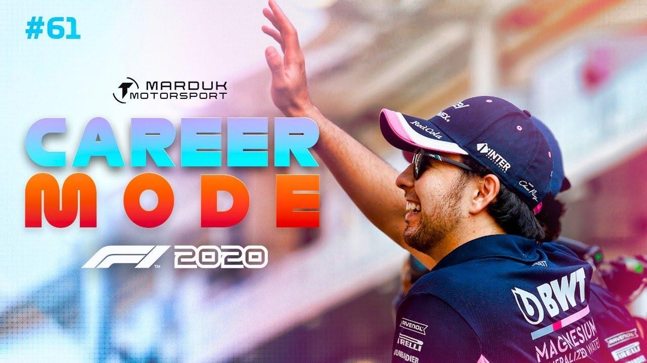 Goodbye Sergio - F1 2020 Career Mode Part 61: Big Changes for Next Season