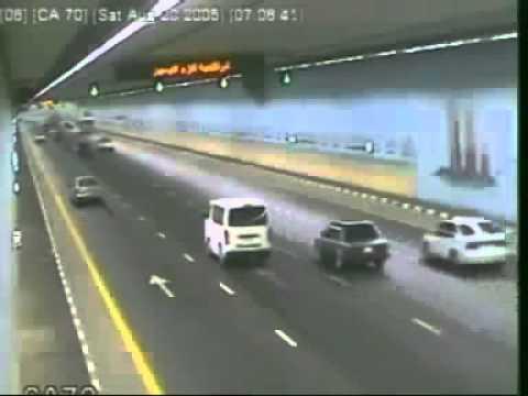 Car Accidents in Dubai 2013