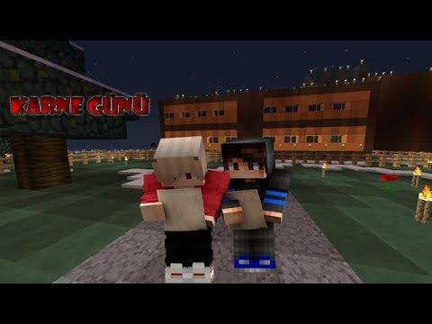 Karne Günü (Minecraft Okul Zamanı) 720p60FPS