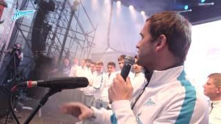 Александр Кержаков спел «Стольный град»