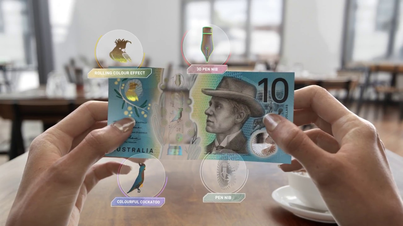 Next Generation Of Australian Banknotes New 10 60 Second Video