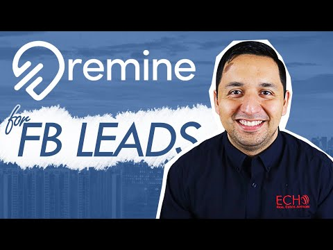How To Use Remine To Run Facebook Ads - Real Estate Agents