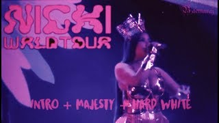 Nicki Minaj - Intro + Majesty + Hard White | NICKI WRLD TOUR (CHECK THE DESCRIPTION) Video