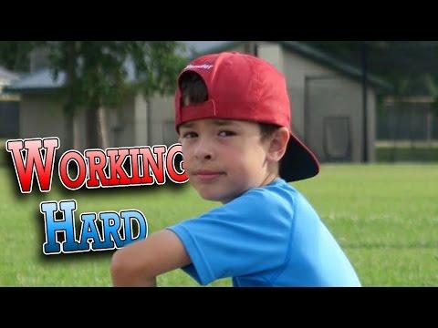 WORKING HARD TO BE A BETTER BASEBALL PLAYER | ERIKTV365