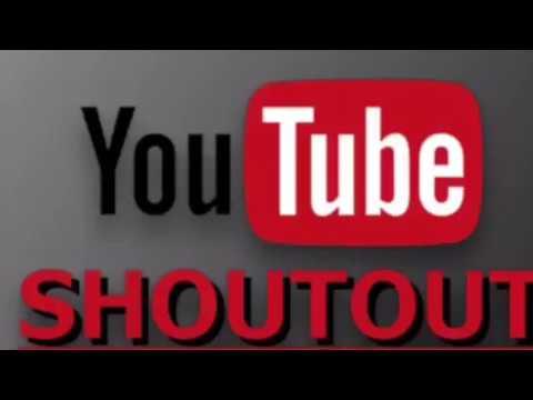 Channel shout-outs 👏🏽🎬📣📢 Links below