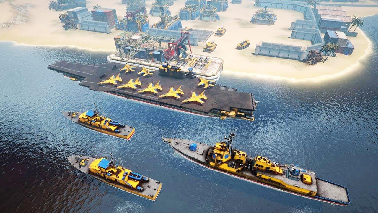 New AIRCRAFT CARRIER AT WAR – Naval Battles & Base Building | Armor Clash 3 Gameplay