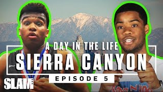 Cassius Stanley & Sierra Canyon TURNED UP otw to the STATE CHIP  🏆 | SLAM Day in the Life