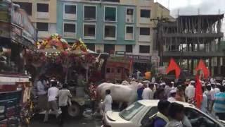Palkhi procession pune