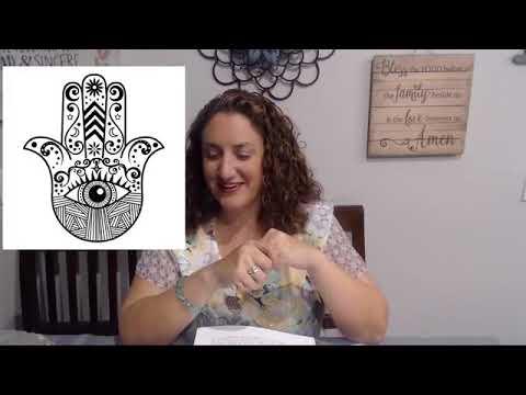 BIBLE STUDY: PART 4 SIGNS AND SYMBOLS - HAMSA HAND AND INFINITY SYMBOL
