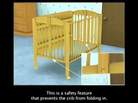 choosing reviews kick foldable crib best portable the ady cribs travel