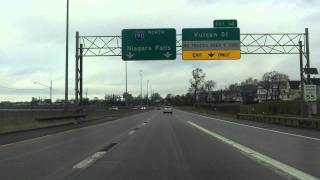 Interstate 190 (Exits 9 to 16) northbound