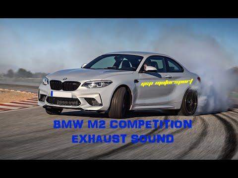 BMW M2 COMPETITON EXHAUST SOUND - REMUS CATBACK/ACTIVE AUTO WERKE MID PIPE