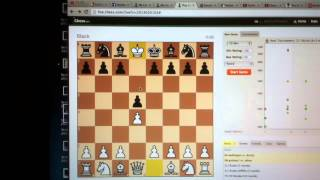 An Insane Man Plays Chess